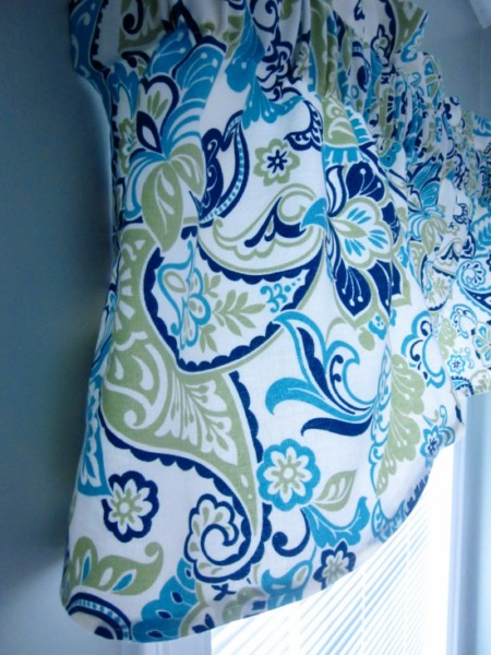 how to quickly make a valance