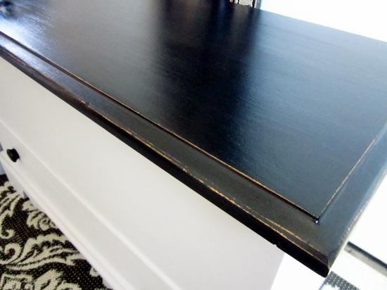 Gray black Storage bench