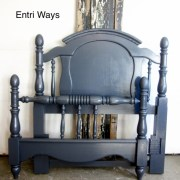 Navy Blue Twin Bed