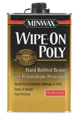 Minwax Wipe On Poly
