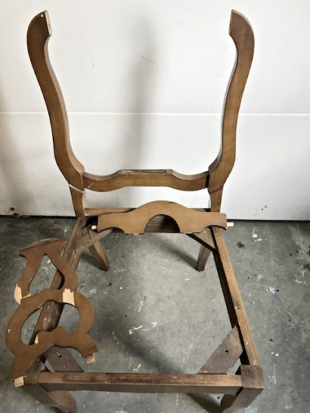 How To Fix A Broken Chair Back 6 Black Dining Chairs