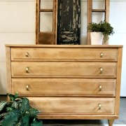 natural maple dresser