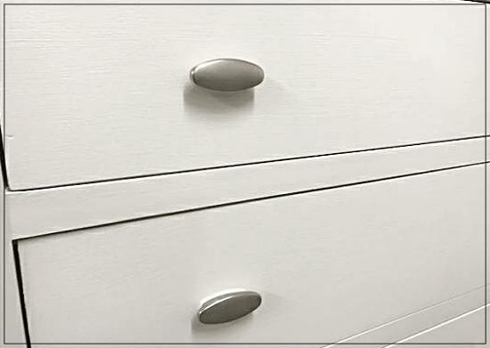 Tall china white dresser