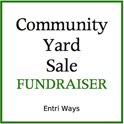 Community Yard Sale Fundraiser