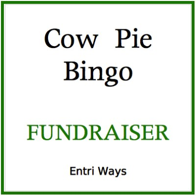 Cow Pie Bingo Fundraiser