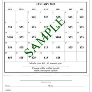 Cash Calendar Raffle SAMPLE 800x