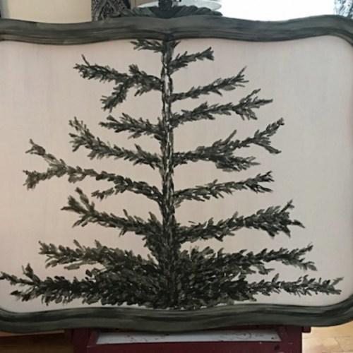pine tree painting