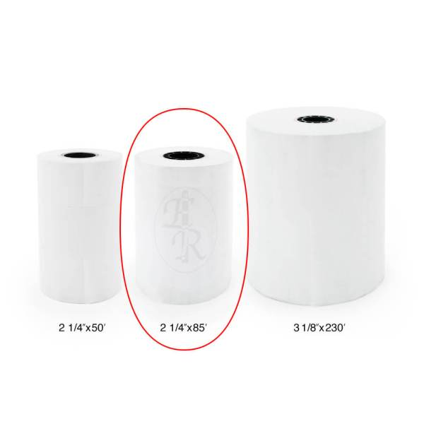 2.25x85 Entorpy-R-us Thermal paper rolls