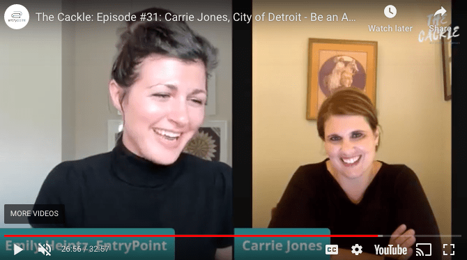 EntryPoint The cackle Carrie Jones