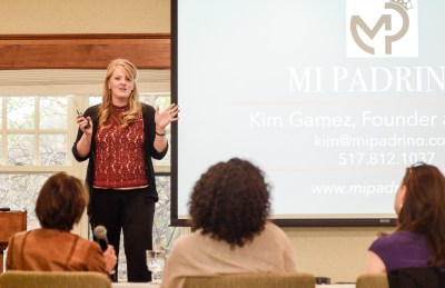 Kim Gamez, Founder and CEO of Mi Padrino