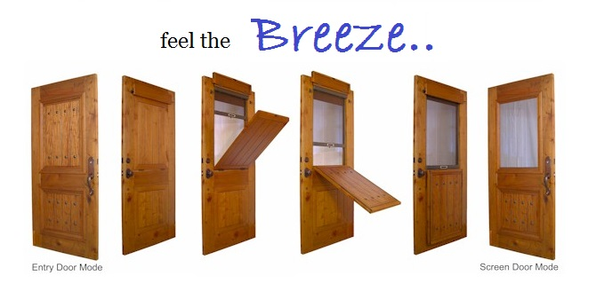 ... Doug Christie, The Breeze Incorporates A Hidden, Retractable Screen So  That Your Entryway Is Always Beautiful And Always Has The Convenience Of  One Door ...