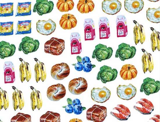 超濃郁!美味的食物插畫