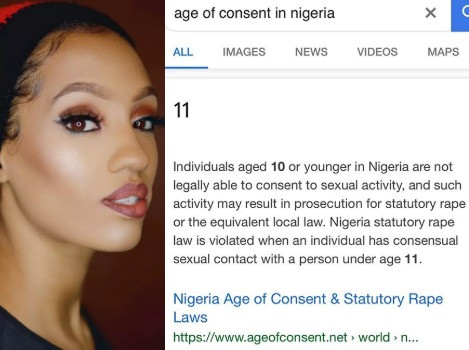 Singer Dija calls for a change in the age of consent in Nigeria which is currently 11
