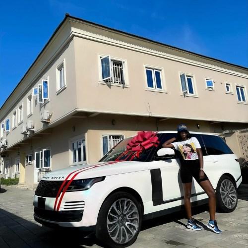 Fashion Designer, Tolu Bally Buys 2020 Range Rover Vogue ...