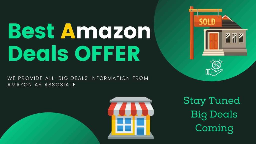 Amazon Daily Deals website With Offering Amazon Deal of the Day