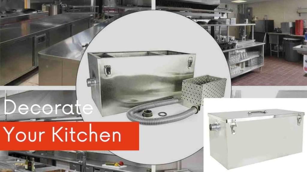 Decorate your Restaurant Kitchen