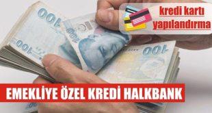 halkbank emekliye ozel kredi