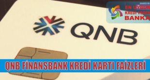 qnb finansbank kredi karti faiz oranlari
