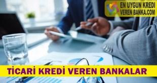 Ticari Kredi Veren Bankalar