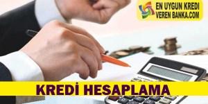 Kredi Hesaplama