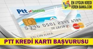 Ptt Kredi Kartı Başvurusu