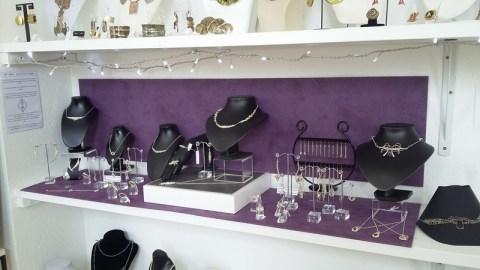 Les bijoux EnVerre et Contrefil à la Boutique Métiers d'art de Nontron