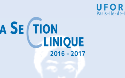 Section Clinique – UFORCA – 2016/2017