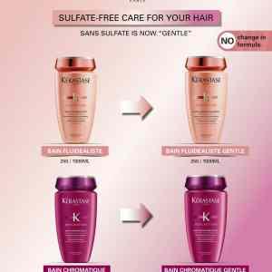 Kerastase Discipline - Bain Fluidealiste Gentle Shampoo(Sulfate - Free) 250ml