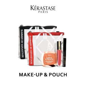 Kerastase Make Up and Pouch