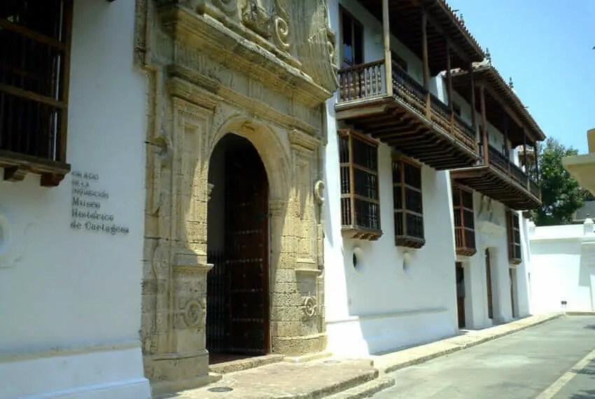 Sitios Turisticos de Cartagena de Indias Palacio Inquisicion
