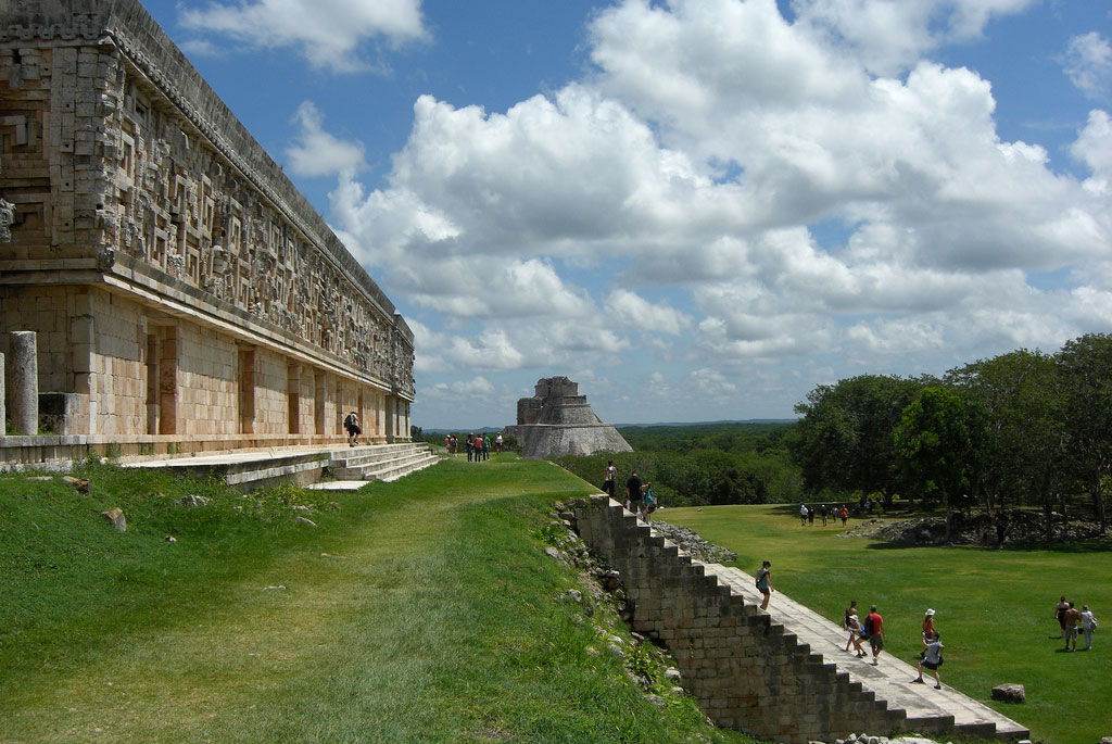Sitios Arqueologicos de Latinoamerica Uxmal