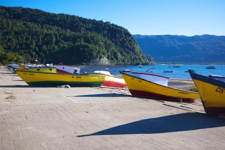 Mejores playas de Chile Puerto Cisnes