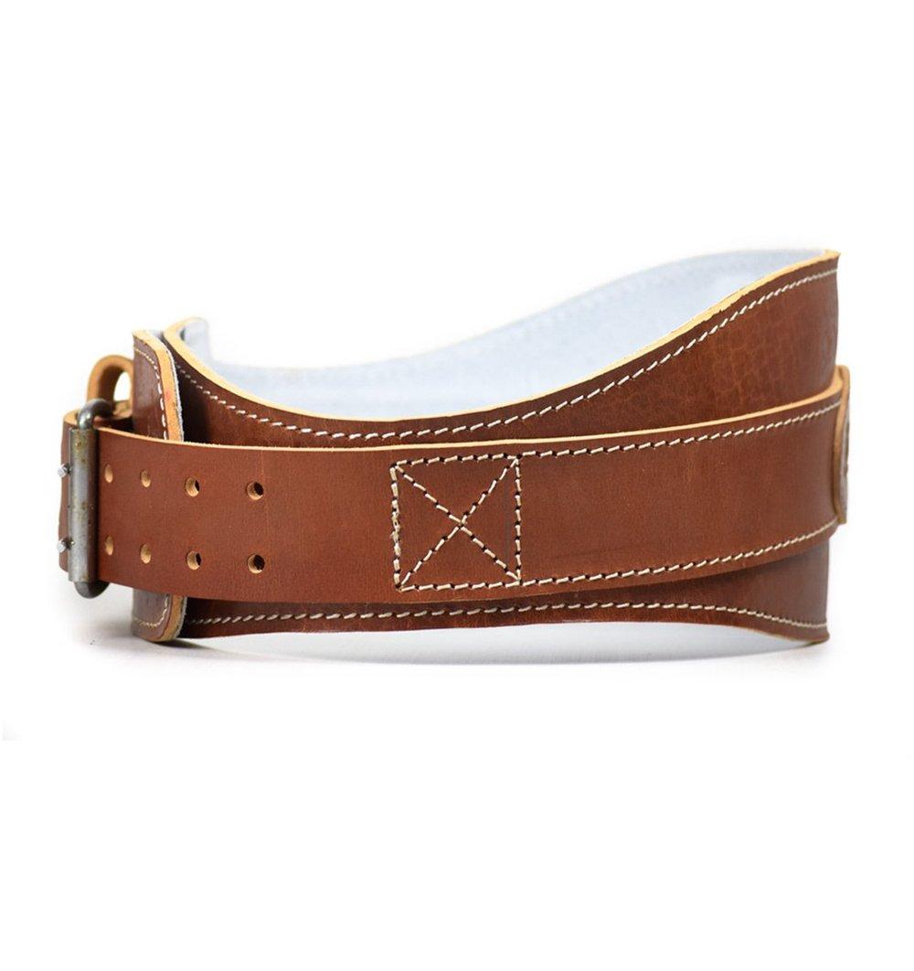 """Schieck4 ¾"""" Leather Padded Countor Belt Cinturon De Piel Con Contorno Acolchonado"""