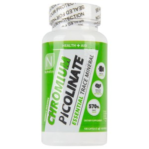 Nutrakey - Chromium Picolinate 100Caps (Picolonato de Cromo)