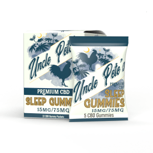 Uncle Pete's - CBD Sleep Gummies 15MG/5Gummies Pete's