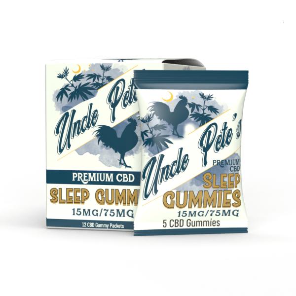 Uncle Pete's - CBD Sleep Gummies 15MG/5Gummies Pete's