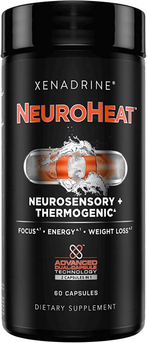 Xenadrine - NeuroHeat Neurosensory + Thermogenic 60 Cápsulas.