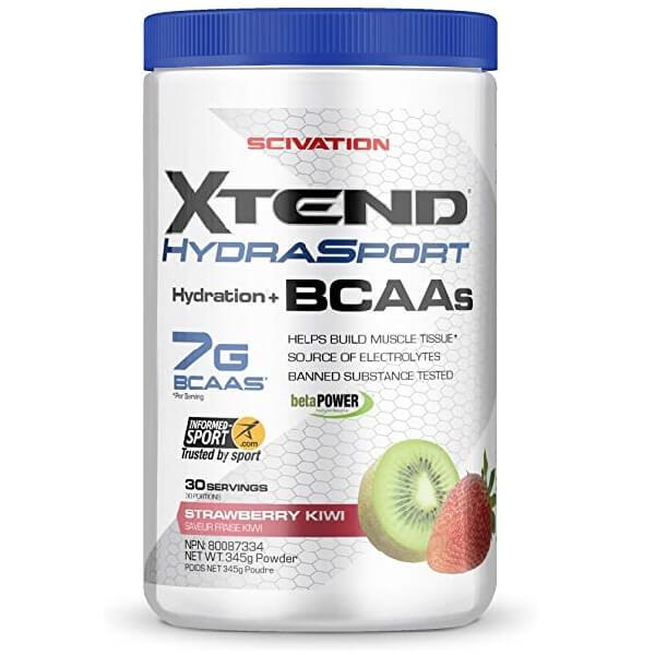 Scivation - Xtend Hydrasport Electrolyte + Bcaas 30 Servicios.