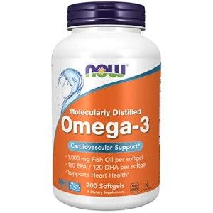 NOW Foods - Omega 3 200 Cápsulas