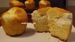 Muffins de naranja y queso Philadelphia