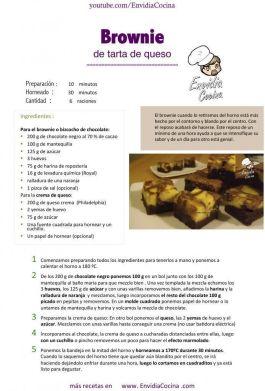 Brownie de tarta de queso ENVI Hoja1