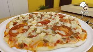Pizza Vegana Casera