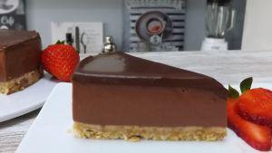 Tarta fácil de chocolate (sin horno)