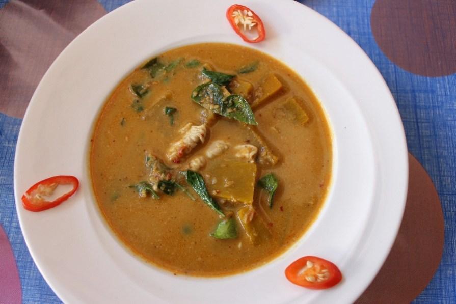 Un délicieux curry rouge!