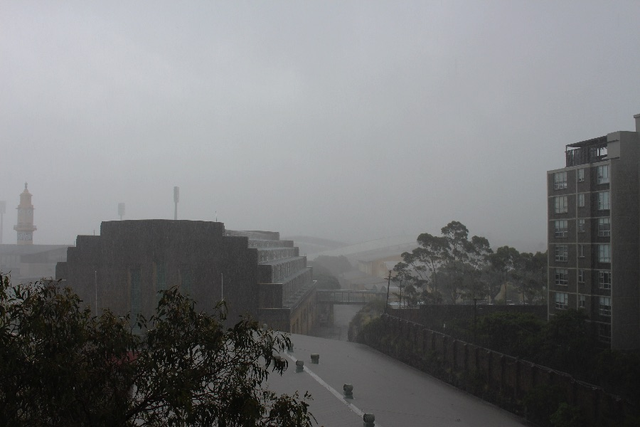 En pleine tempête!