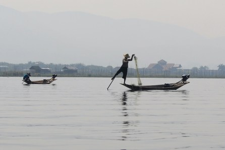 Un pêcheur.