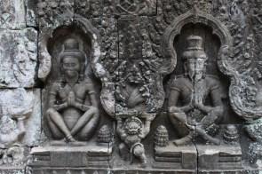 Les sculptures du Preah Khan