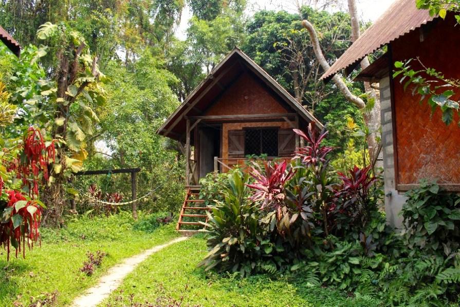 Notre petit bungalow à Vang Vieng!