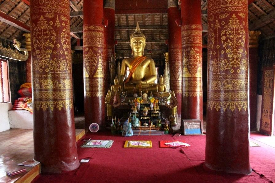 A l'intérieur d'un temple