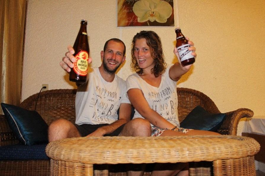 On a quand même sifflé une dernière bière avant de rentrer!